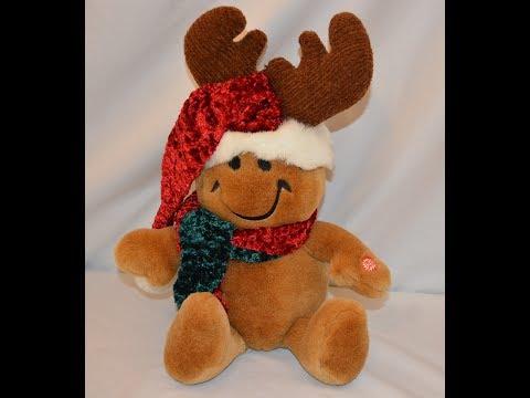 Dan Dee Singing Smiley Christmas Doll