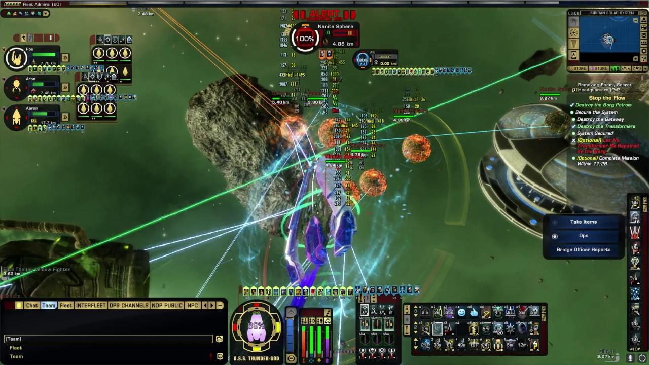 Star Trek Online 61k Obelisk Carriert5 008 Minutes Youtube