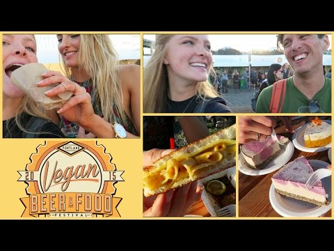 2015 Portland Vegan Beer & Food Festival | Running Into Youtubers