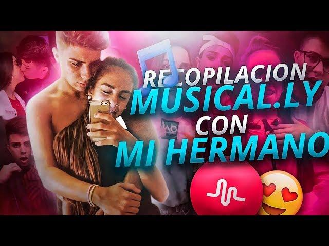 RECOPILACIÓN DE MUSICAL.LY CON MI NOVIO👬 | Niniva León Gil - YouTube