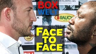 Mario Daser vs Ola Afolabi - FACE TO FACE - 15.05.2017 -  Hamburg