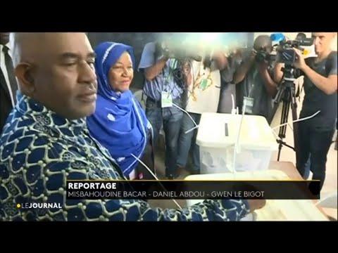 Election présidentielle aux Comores