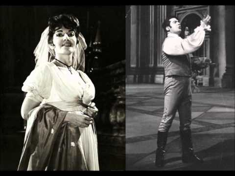 Tosca [part 1 of 3] - Callas, di Stefano, Campolonghi (LIVE - 1952 Mexico City)