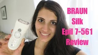 BRAUN SILK EPILATOR 7-561 REVIEW
