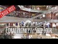 Let's Tour the Coral Princess Cruise Ship - YouTube