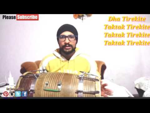 Dholak Lessons For Beginners |LAAVNI(Fast)-Part 2|Learn Dholak Online