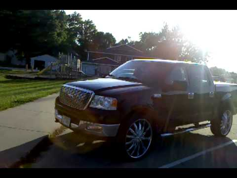 """Ford F150 King Ranch >> ford f150 rines 26"""" - YouTube"""
