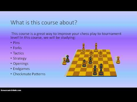 Introduction to Chess Course for Beginners!