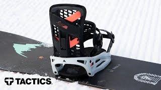 Burton CARTEL REFLEX 2020 Snowboardbindung Black Freeride All Mountain