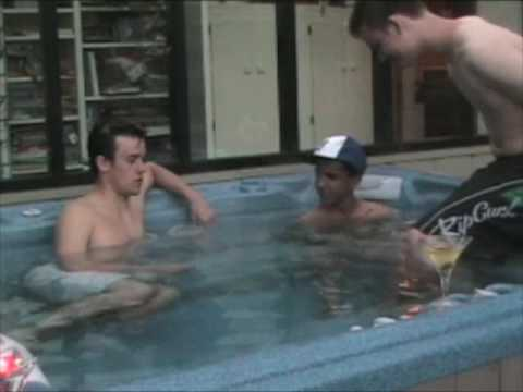 boys Hot tub