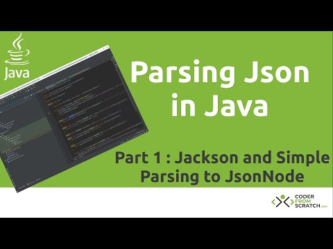 Parsing Json In Java Tutorial - Part 1: Jackson And Simple Objects