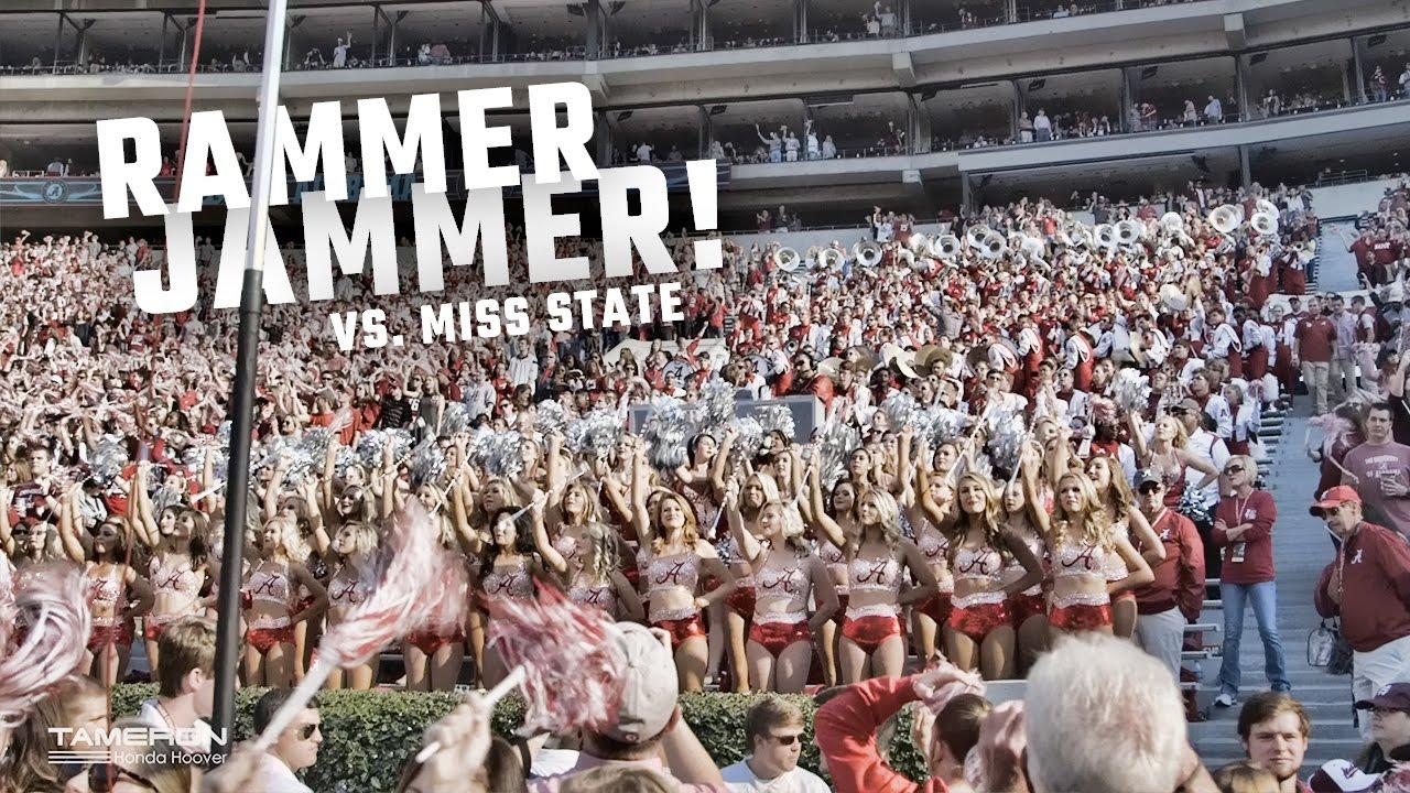 Watch Alabama fans sing 'Rammer Jammer' after blowout win ...