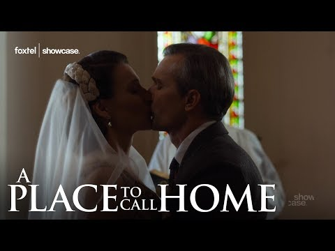 Behind the Scenes: Carolyn & Jack's Wedding Day    A Place To Call Home   Season 4