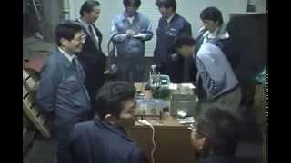 リハーサル風景  大阪市立十三中学校「めっきの実験」