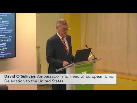 Remarks: David O'Sullivan, Ambassador and Head of European Union Delegation to the United States