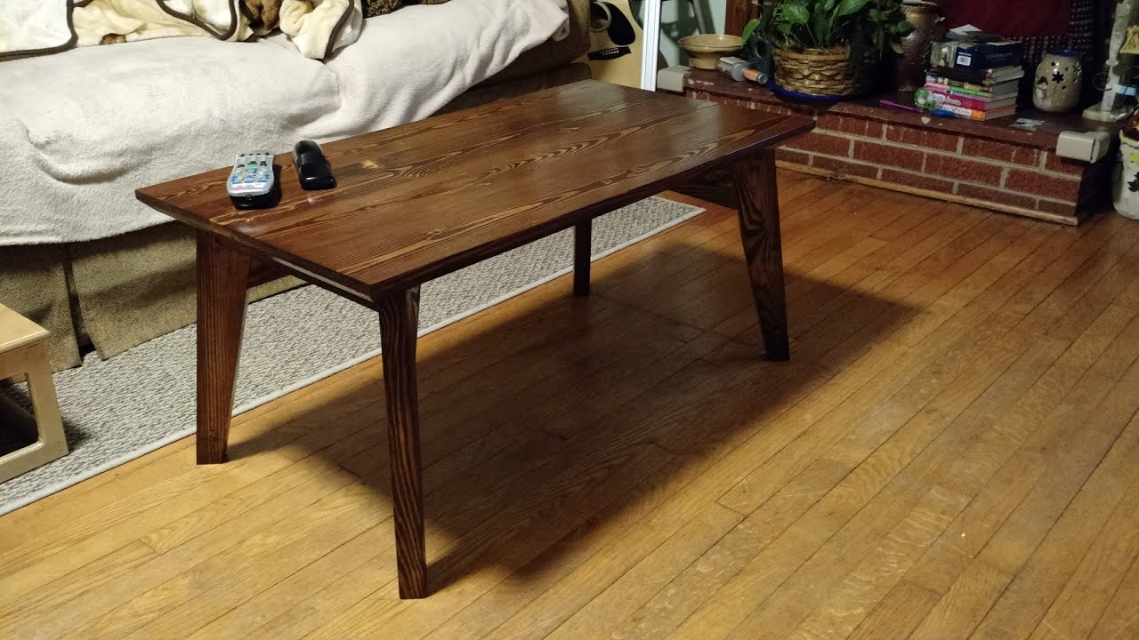 how to make new Coffee table from old one diy