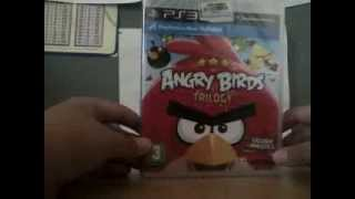 Angry Birds Trilogy Unboxing PS3
