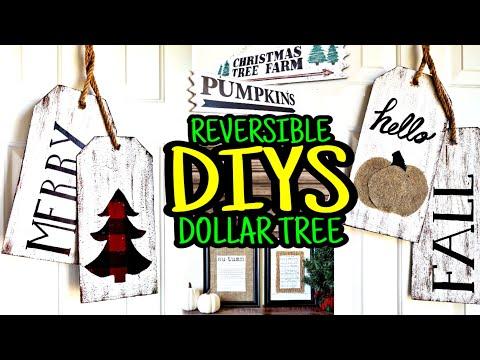 New Dollar Tree DIY Christmas & Fall Decor