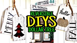 New Dollar Tree DIY Christmas & Fall Decor