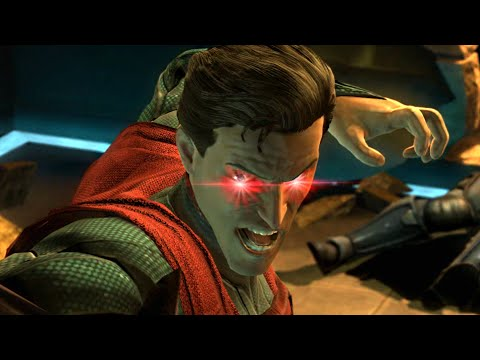 INJUSTICE: Gods Among Us FULL MOVIE (All Cutscenes / Cinematics)