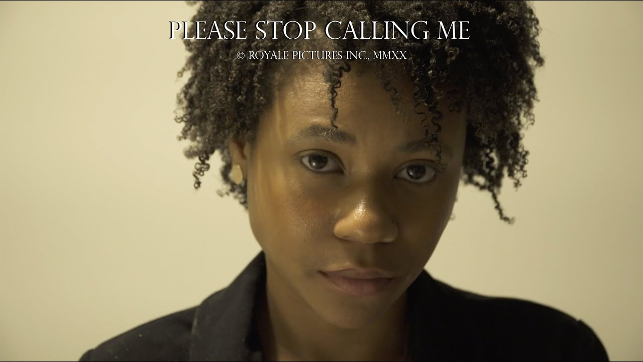 Rising Actor & Filmmaker Amir Royale Releases New Short Film 'Please Stop Calling Me'