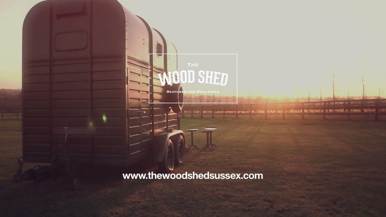 The Woodshed Horse Box Wedding Boutique Bar Conversion