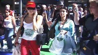 Jet-Setters Paris Hilton And Kim Kardashian Take Flight At LAX [2006]