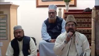 Main Nazar karu jano jigar kaisa lagega.. recited by Rafiq Qadri in Masjid e Khazra,NY