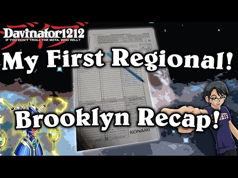 My First Regional Event! Brooklyn 2017! 9 Rounds of Yu-Gi-Oh!
