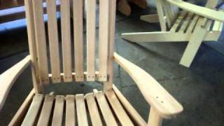 Amish Made Cypress Porch Rocking Chair