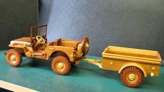 WW2 Jeep Trailer