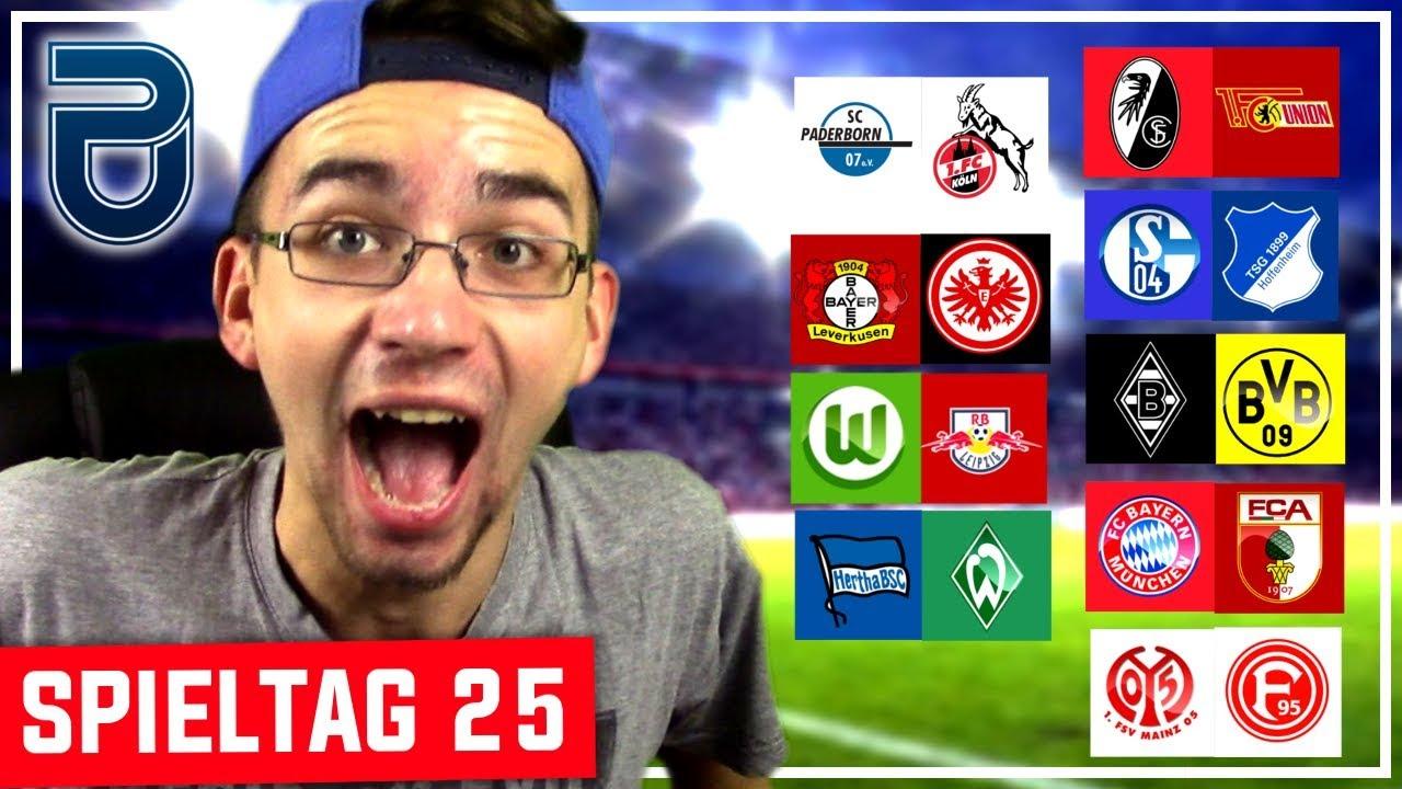 Bundesliga 25 Spieltag