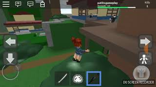 Battling roblox