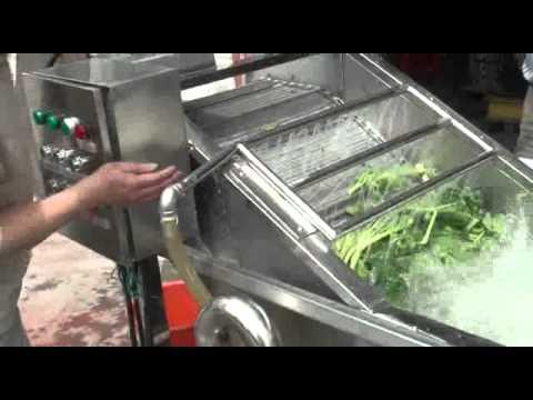 小型洗菜機vegetable washer - YouTube