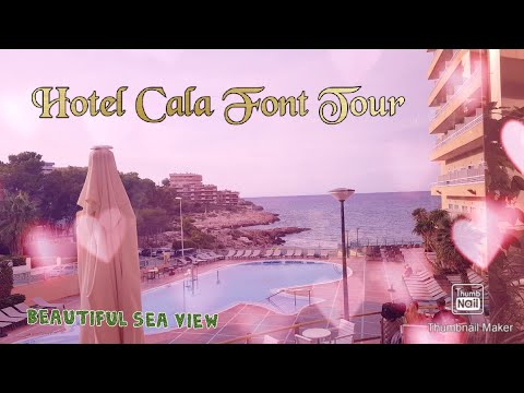 Hotel Tour And Nearby Areas Of Cap Salou/Hotel Cala Font