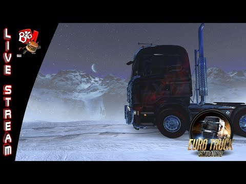 Livestream, Euro Truck Simulator, Delivering some Gifts and Special Transport Haul