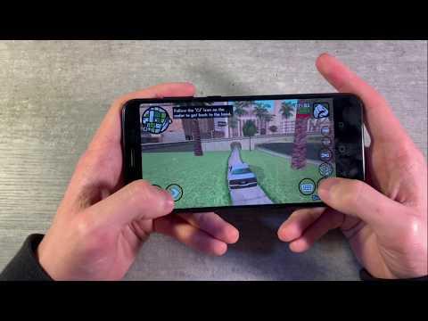 Игры Asus Zenfone Max Pro M1 (GTA:SanAndreas, PUBG:Mobile, Gangstar:NewOrleans)