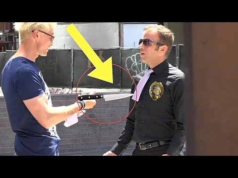 BEST Public Trolling Pranks (NEVER DO THIS!!) - COP SECURITY