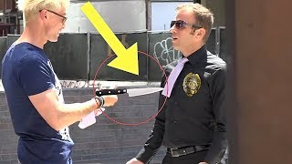 BEST Public Trolling Pranks (NEVER DO THIS!!) - COP SECURITY Public MAGIC PRANKS COMPILATION 2018