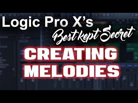🔥 Logic Pro X's Best Kept Secret - Easily Creating Melodies | Beat Making Tutorial Music Production