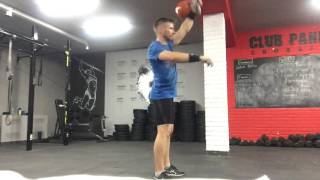 #тренировкигиревиков: рывок гири 28 кг. с махом, ОФП