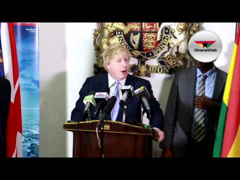 UK to push for free trade deal with Ghana