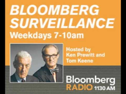 Clark Winter Interview by Ken Prewitt and Tom Keene on Bloomberg Radio