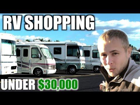 RV Shopping On A Budget UNDER 30K Class A