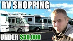 RV Shopping on a Budget UNDER 30K Class A