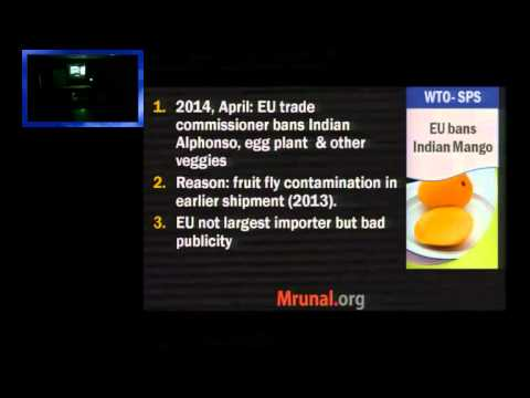 L3/P6: WTO, Bali Package, Food subsidy issue, TFA
