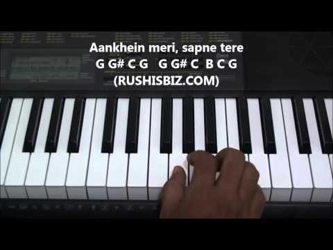 Tujhe dekha to ye jana sanam PIANO TUTORIALS | 917013658813 - PDF NOTES/BOOK - WHATS APP US