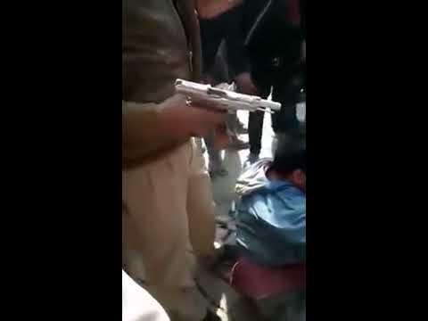 Jagdishpur Amethi Goli Chalane Wala Pakda Gaya  गोलियां ,जिसमे असफाक ki mot ho gai