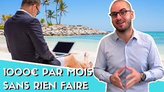 Combien investir pour gagner 1 000 € par mois ?