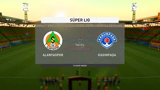 ⚽ Alanyaspor vs Kasımpaşa ⚽ | Süper Lig (11/01/2021) | Fifa 21
